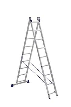 Лестница-трансформер  2*9  (выс. -2.57/4.49) - фото 13584