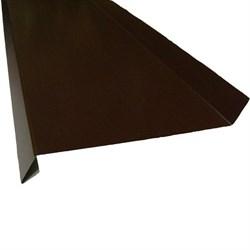 Отлив п/э коричневый 0.15*1 м ( 8017) - фото 13937