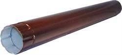 Труба п/э коричневый д. 95 мм, длина-0.625м - фото 13952
