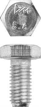 Болт с ш/гр головкой цинк М 6*25 - фото 15078
