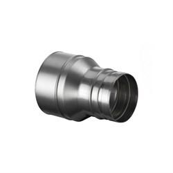 Переходник нержавеющая сталь 0,5мм.  Диаметр 80/115 - фото 20602