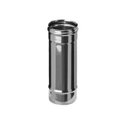 Труба длиа 0,5м (нержавеющая сталь 0,5мм) диаметр 200 - фото 20618