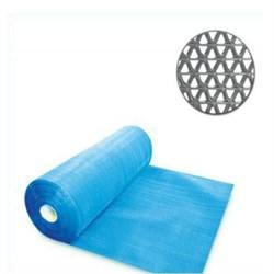 Коврик-дорожка против скольжения Zig-Zag 5мм, 0.9*15м, голубой - фото 21489