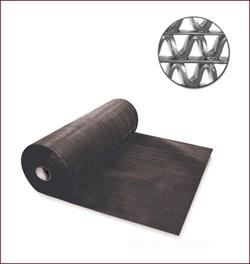 Коврик-дорожка против скольжения Zig-Zag 5мм, 0.9*15м, черный - фото 21493