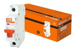 Автоматический выключатель ВА 47-29  1Р 20А 4.5кА характеристика С ТДМ - фото 22507