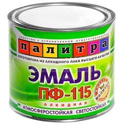 Эмаль ПФ-115 черная 1,9 кг Палитра - фото 23095