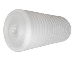 Подложка из вспененного полиэтилена 4ммx1.05м, в рулоне - 50м  (на метраж) - фото 26994
