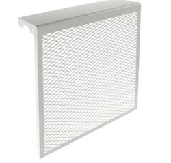 Экран-отражатель навесной декоративный, 600x480x140мм, 5 секций, металлический, белый - фото 30495