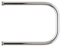 Полотенцесушитель водяной AQUATER, 500х500мм, П-образный, нержавеющая сталь - фото 37766