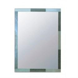 Зеркало прямоугольное с матовой стеклянной рамкой HAIBA HB629/F, 600х800мм - фото 41392