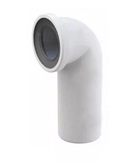 Фановая труба для унитаза АНИПЛАСТ, диаметр 110мм, угол 90 градусов, короткая - фото 45523