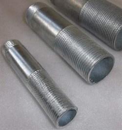 Сгон Ду50 стальной оцинкованный, длина 65/150мм - фото 7018