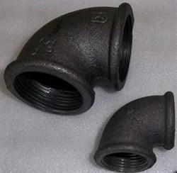 Угольник Ду 32 чугун - фото 7034