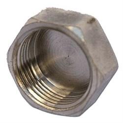 Заглушка 20 ВР никель - фото 7045
