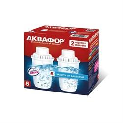 Картридж Аквафор В100-5 защита от бактерий (комплект из 2-х штук) - фото 7461