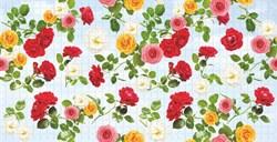 Панель-фартук ПВХ Мозаика Испанская роза, 960x480x0.3мм - фото 8607