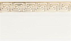 Карниз ГАЛАНТ Нео-ГРЕЦИЯ 3-х рядный 2,4м белый - фото 9193