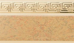 Карниз ГАЛАНТ Нео-ГРЕЦИЯ 3-х рядный 2,6м песок - фото 9202