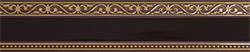 Карниз МОНАРХ 3-х рядный 2,4м венге - фото 9224