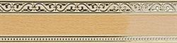 Карниз МОНАРХ 3-х рядный 2,4м ясный дуб - фото 9230