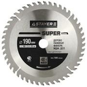 Диск STAYER SUPER-Line пильный по дереву 160х20 мм 36Т