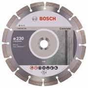 Диск отрезной алмазный BOSCH 230*2,3*22 Prof for Concrete(бетон)BPE сегмент 10мм