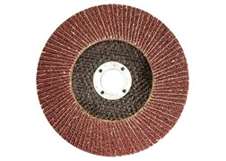 Круг лепестковый торцевой 150*22мм зерн-ть 60 (25Н)
