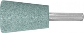 Шарошка абразивная ( по камню, мрамору, кафелю), хвостовик 6 мм конус с закруглением 25х35 мм