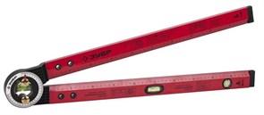 Уровень-угломер ЗУБР складной 3ампулы (1поворотная) 500мм
