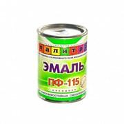"""Эмаль ПФ-115 белая,0,9кг """"Палитра"""""""