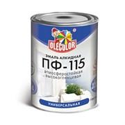Эмаль ПФ-115 шоколад алкидная 0,8 кг OLECOLOR