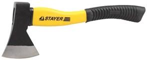 Топор STAYER кованый, с двухкомпонентными пластиковыми ручками 0,6 кг