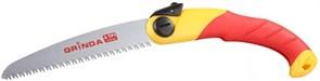 Ножовка GRINDA садовая складная,3Д-заточка, шаг 4-190 мм