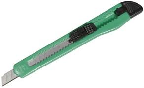 Нож STAYER 0901 MASTER с выдвижным сегментированным лезвием, пластмас., 9 мм