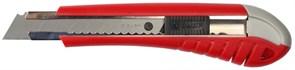 Нож ЗУБР МАСТЕР 09163 с выдвижным сегментированным лезвием, сталь У8А, 18мм