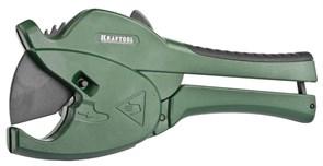 Труборез KRAFTOOL для металлопластиковых труб со спецлезвием для всех видов пластиковых труб 42 мм