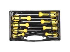 Набор отверток STAYER 25133-H8 ULTRA, хром-ванадиевая сталь, эргономичная двухкомпонентная ручка, 8 шт