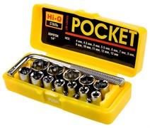 Набор STAYER 2-26089-H13 Торцевые головки MASTER POCKET в пластиковом боксе, 13 предметов
