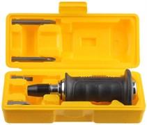 Набор STAYER 25663-H4 Отвертка PROFI ударно-поворотная, обрезиненная рукоятка, с битами, 4 предмета