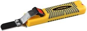 Съемник STAYER 2-45303 изоляции кабелей с дополнительным лезвием, 8-28мм
