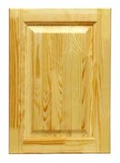Дверка кухонная сосна 280*496 /Глухая/