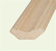 Плинтус напольный твердолиственных пород Дуб стычной ВС, 50x12мм, 2 сорт