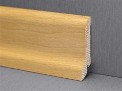 Плинтус напольный хвойных пород 50x12мм, цельный, сапожок