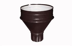 Воронка  п/э коричневый  D95мм