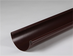 Желоб п/э коричневый (8017) п/круг,  диам.120мм L=2м
