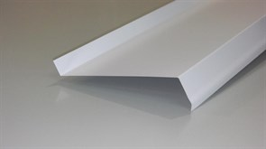 Отлив п/э белый 0.15*1.5м