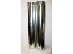 Труба  оцинкованная  D95мм, длина-1.25м