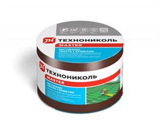 Лента-герметик самоклеящаяся и гидроизолирующая битумно-полимерная NICOBAND, 10смx10м, цвета: коричневый, зеленый, красный