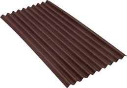 Черепица Ондулин SMART 1.95x0.95м, 10-волновой, коричневый