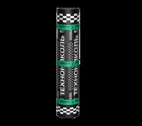 Линокром ХКП, 1x10м, верхний слой кровли, 2-слойный (крупнозернистая посыпка (сланец серый)+полиэтиленовая пленка), наплавляемый, 10м2